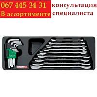 Набор ключей комбинированный (в ложементе) TOPTUL GAAT1802