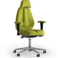 Кресло KULIK SYSTEM CLASSIC Ткань с подголовником без строчки Оливковый 12-901-BS-MC-0513, КОД: 1696981