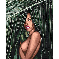 Картина по номерам Идейка Люди 40х50 см Соблазнительная амазонка KHO4507, КОД: 1318151