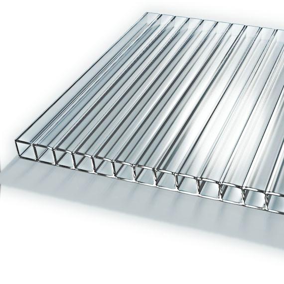 Сотовый поликарбонат Soton Nano (Прозрачный) 2100 * 6000 4 мм