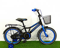 Велосипед двухколесный «Crosser» Rocky 13 Синий (колеса 18 дюймов)