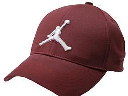 Мужская кепка бейсболка коттон бордовая