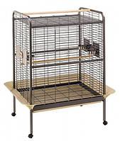 Ferplast Expert 80 - клетка-вольер для крупных попугаев (109,5 x 81 x h 156 cm)