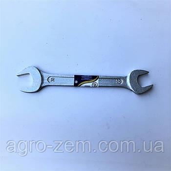 Ключ рожковый 27х30 (цинк) (пр-во г.Камышин)