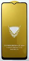 Защитное стекло для Realme 6i полная проклейка OG Gold Armor Full glue