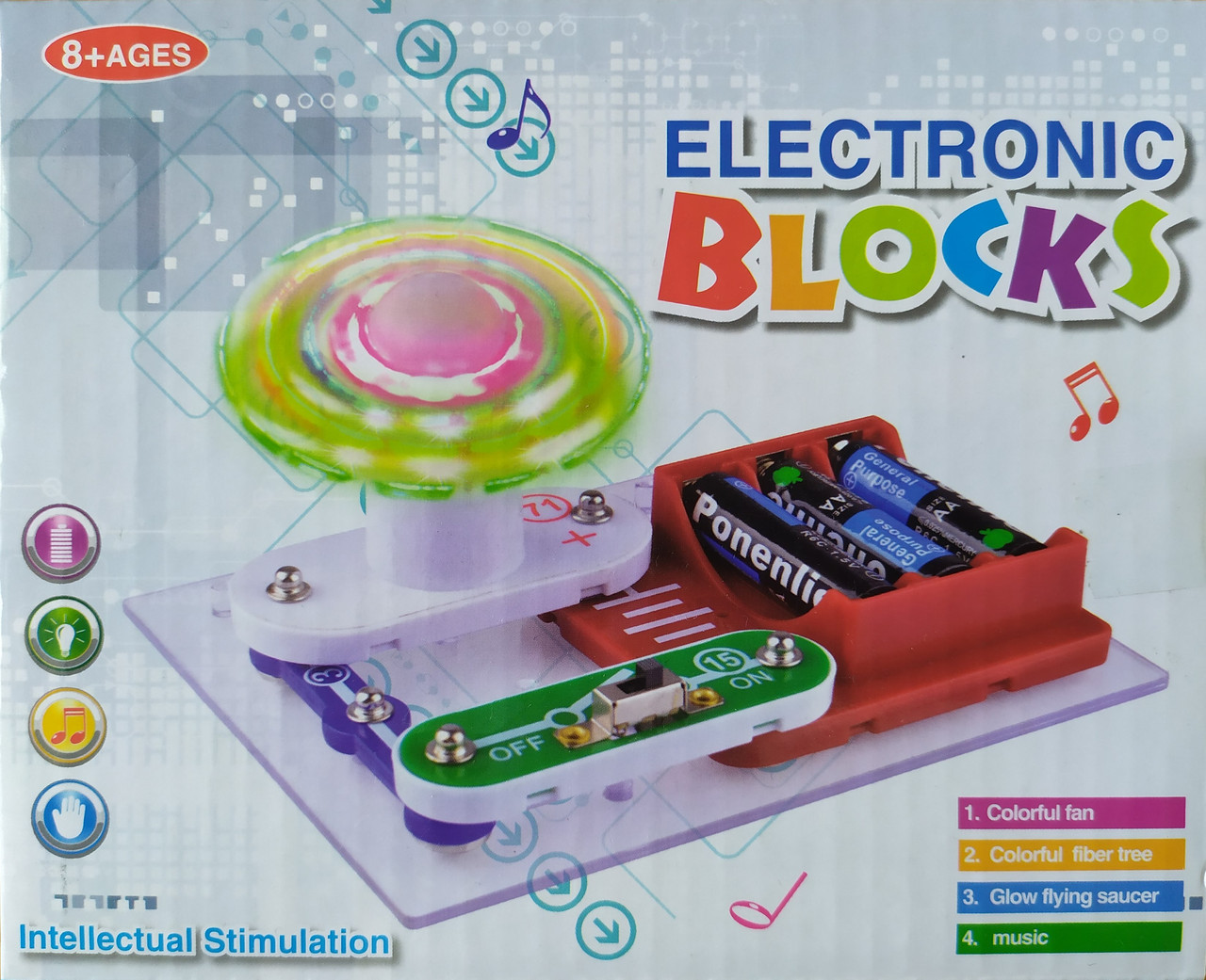 Конструктор электронный Electronic Blocks (02)