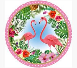Тарелочка Фламинго 18см