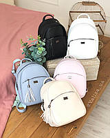 Качественный женский рюкзак повседневный из эко кожи / жіночий рюкзак черный