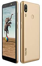 Смартфон Tecno POP 3 (BB2) 1/16GB Dual SIM Champagne Gold (Золотистий), фото 2