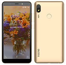 Смартфон Tecno POP 3 (BB2) 1/16GB Dual SIM Champagne Gold (Золотистий), фото 3
