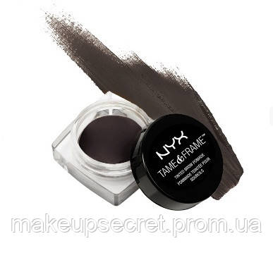 "Помадка для бровей NYX Tame & Frame Brow Pomade 05 Black - Интернет-магазин ""MakeupSecret"" в Киеве"