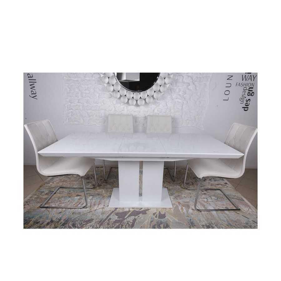 Стол Nicolas Amsterdam (140/183*81) белый