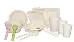ЭКО Биоразлагаемая посуда
