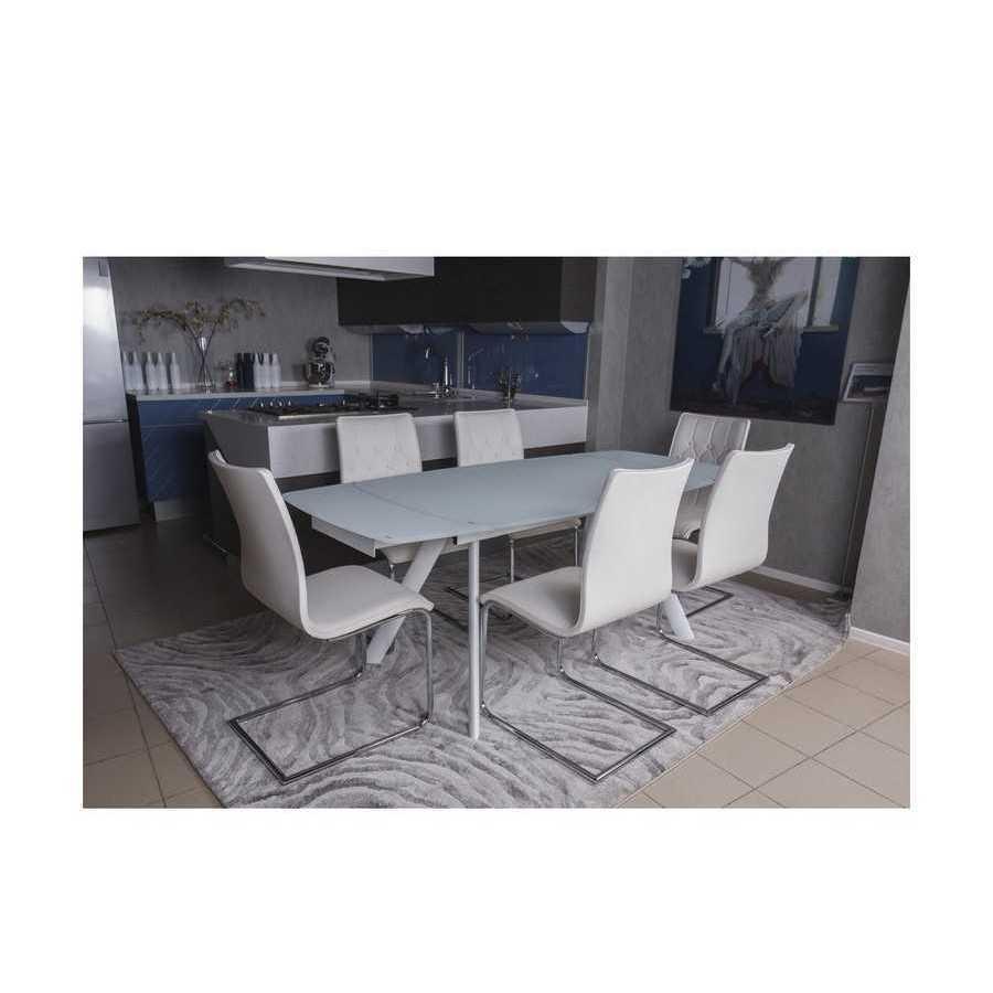 Стол Nicolas Chester TL-1134D (140/200*90*75.5) белый-1