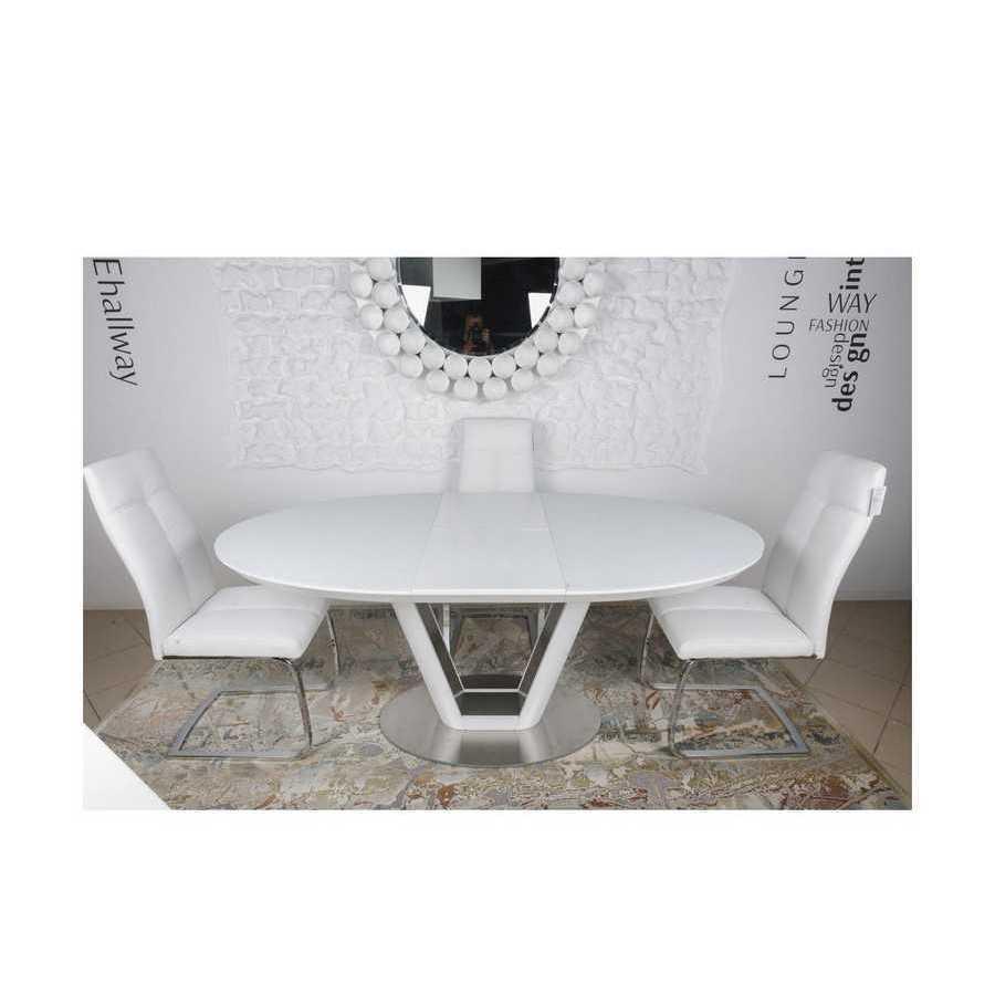 Стол Nicolas DENVER HT2135 (140/180*95) белый