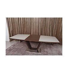 Стол Nicolas Detroit HT2135 (160/220*90) крем/венге, фото 3