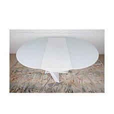 Стол Nicolas EDINBURH 4710 (110/155*110*75) белый, фото 2