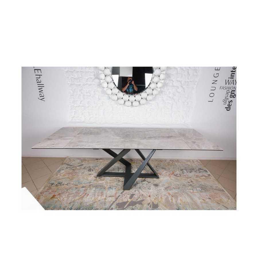 Стол Nicolas Fleetwood 4697L светло-серый глянец керамика