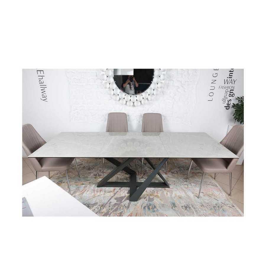 Стол Nicolas Fleetwood 4697L серый глянец керамика