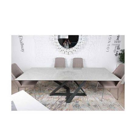 Стол Nicolas Fleetwood 4697L серый глянец керамика, фото 2