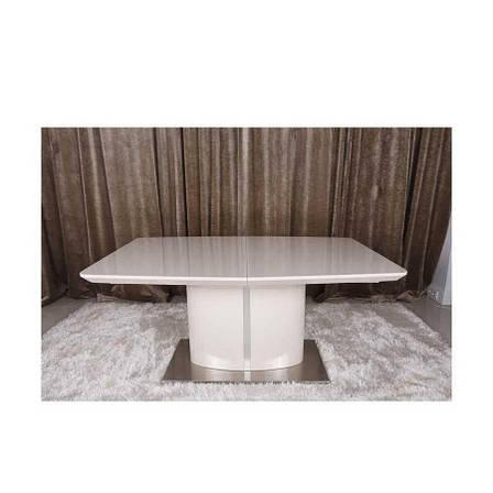 Стол Nicolas Lancaster HT2108 (160/220*100) капучино, фото 2