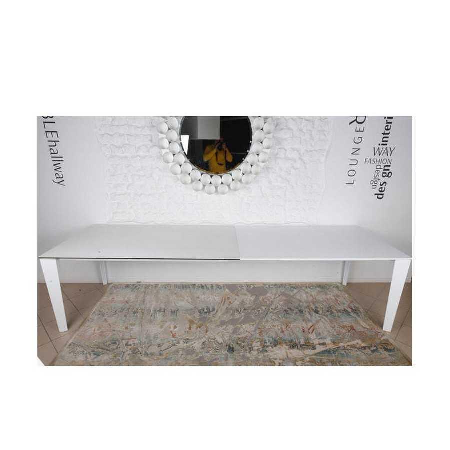 Стол Nicolas Liverpool 4622L (160/300*90)  керамика белый