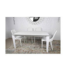 Стол Nicolas Liverpool 4622L (160/300*90)  керамика белый, фото 2