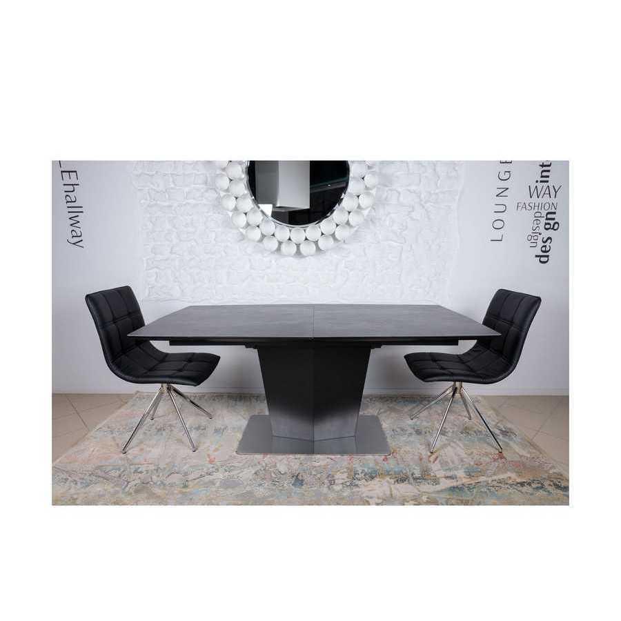 Стол Nicolas Michigan HT2368 (180/230*95) керамика коричневый