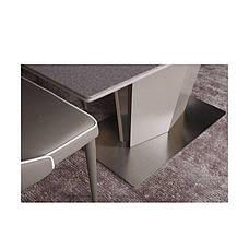 Стол Nicolas Michigan HT2368 (180/230*95) стеклокерамика мокко/баклажан, фото 2
