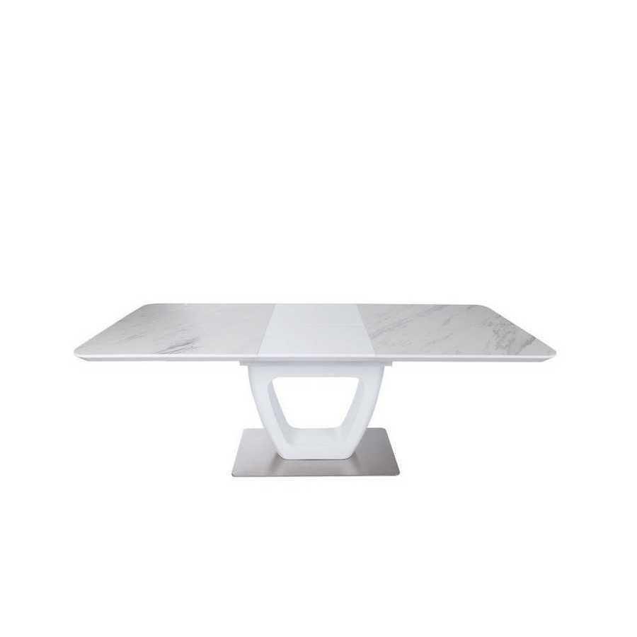 Стол Nicolas Toronto HT2527 (160/210*90) керамика белый мат