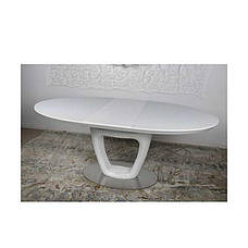 Стол Nicolas VANCOUVER HT2436 (140(+40)*95) белый, фото 3