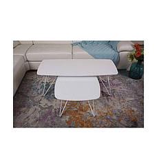 Стол журнальный Lyon S ( Лион С ) белый, фото 3
