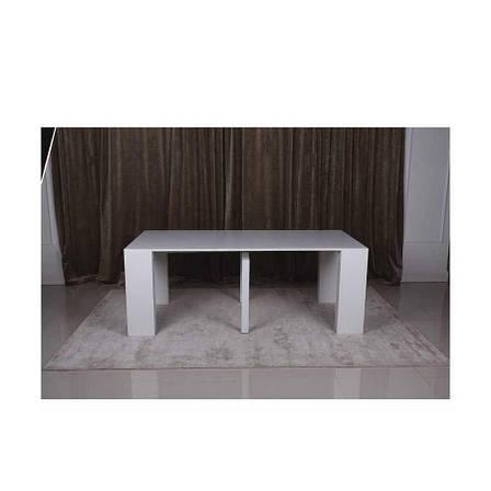 Стол-консоль Manchester 3899L (45/200*95) белый, фото 2