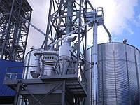 Монтаж оборудования для очистки зерна RIELA,  Prof-Seed