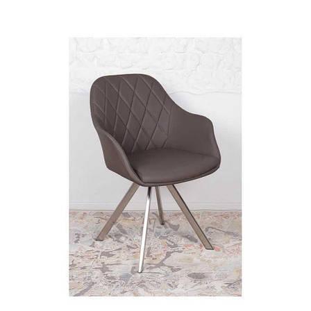 Кресло Nicolas Almeria (мокко) поворотное, фото 2