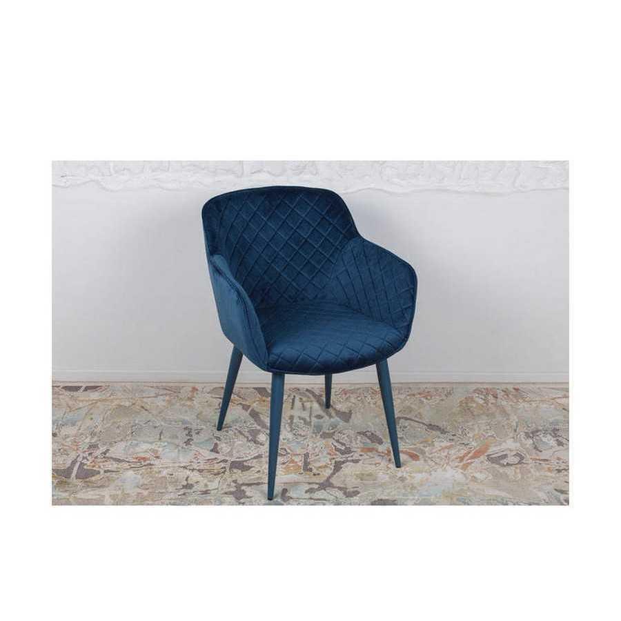 Кресло Nicolas Bavaria ( Бавария ) синий