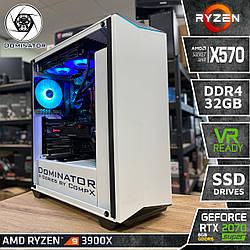Dominator X90. (RTX 2070S I Ryzen 9 3900X I X570 I DDR4 32Gb I SSD NVMe I +2Tb)