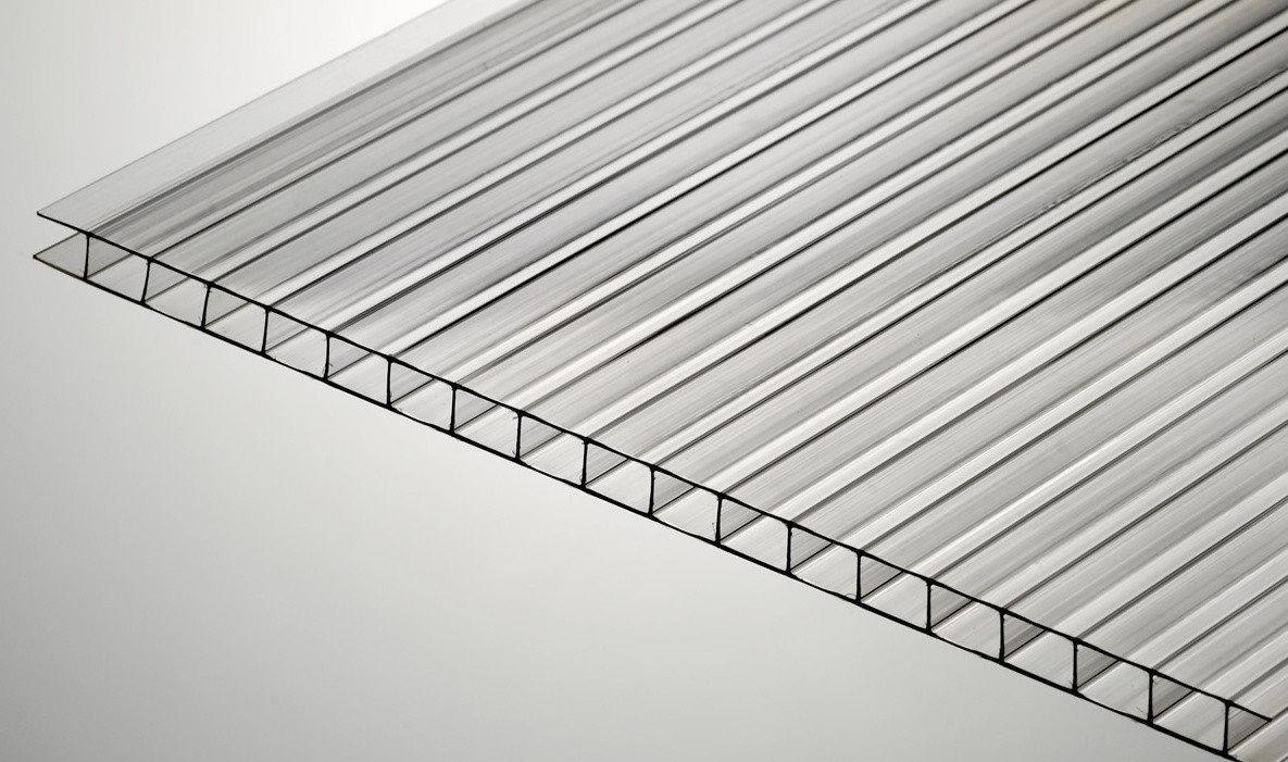 Сотовый поликарбонат Soton Eco (прозрачный) 4 мм