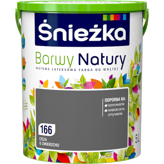 Краска латексная Sniezka Barwy Natury 166T Вечерняя тишина 5 л