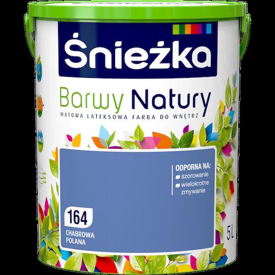 Краска латексная Sniezka Barwy Natury 164T Волошкова поляна 5L