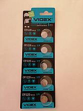 Батарейки Videx CR1220