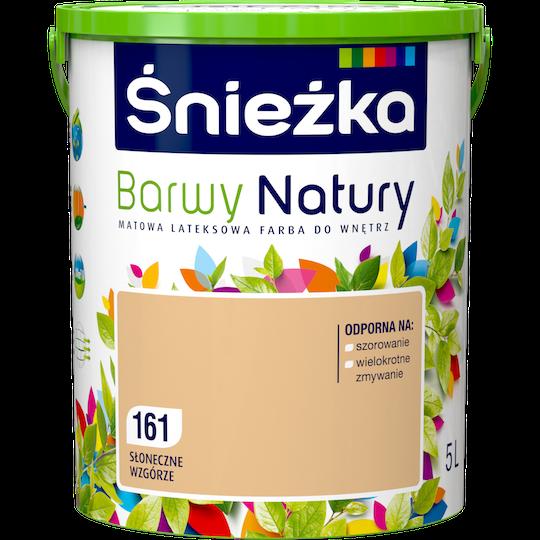 Краска латексная Sniezka Barwy Natury 161T Солнечный холм 5L