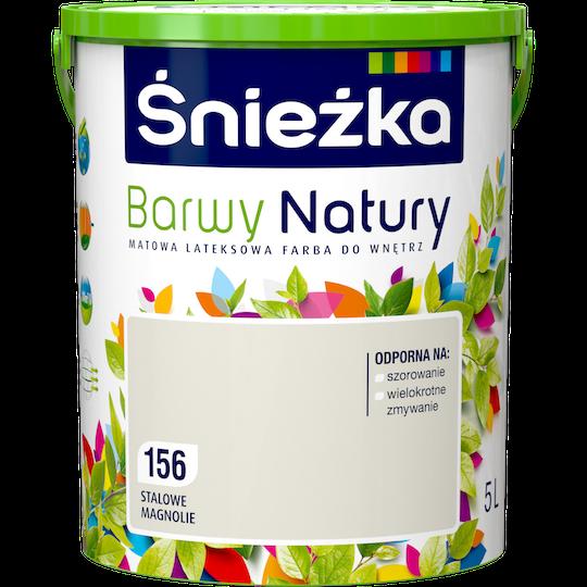 Краска латексная Sniezka Barwy Natury 156T Стальные магнолии 5 л