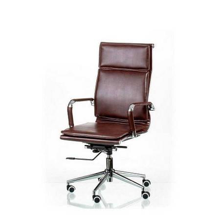 Кресло офисное Solano 4 artleather brown Special4You, фото 2