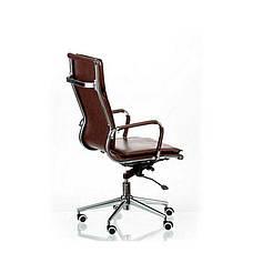 Кресло офисное Solano 4 artleather brown Special4You, фото 3