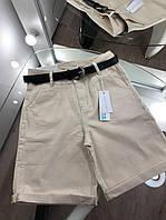 Женские бежевые джинсовые шорты