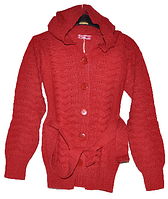 Кофта вязаная,детская для девочки (11-12-13 лет)Детская одежда оптом.