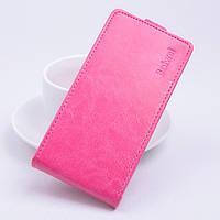 Чохол фліп для Sony Xperia C5 Ultra рожевий, фото 1