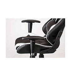 Кресло офисное геймерское еxtrеmеRacе black/whitе Special4You, фото 3