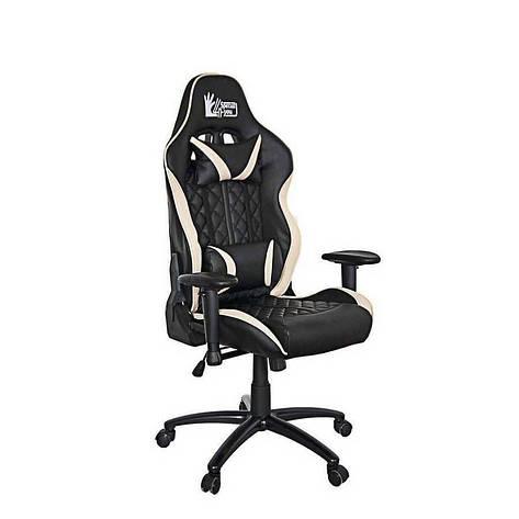 Кресло офисное ExtremeRace 3 black/cream Special4You, фото 2